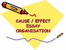 Cause And Effect Power Point Cause Effect Essay Powerpoint New