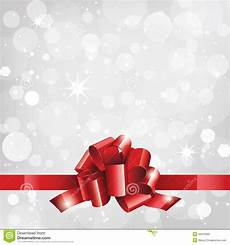 Holiday Ribbon Holiday Background Or Card With Red Ribbon Stock Photo