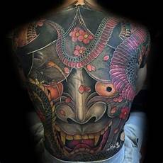 Demon Mask Designs 80 Japanese Snake Design For Men Cool Ink Ideas