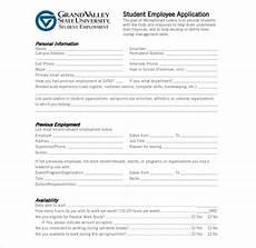 Employment Skills List 9 Employee Application Forms Amp Templates Pdf Doc