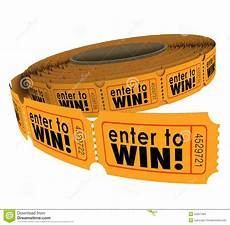 Enter The Raffle Enter To Win Raffle Ticket Roll Fundraiser Charity Lottery