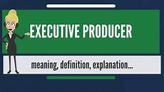 What Is A Sales Executive What Is Executive Producer What Does Executive Producer