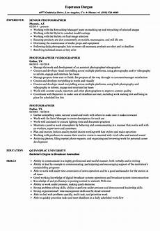 Photography Objective Resume 12 Photography Resume Objective Radaircars Com