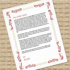 Microsoft Word Christmas Letter Template Christmas Letter Template For Ms Word Download Amp Print