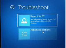 What should I do if Windows 10 won't boot after an update