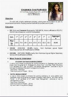 Resume Format Hotel Management Hotel Management Resume Format Pdf Printable Planner