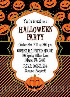Halloween Invites Happy Pumkins Halloween Party Invitation Printable 183 Just