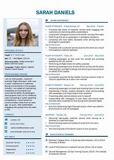 Cv Template For Cabin Crew Cabin Crew Resume Cv Template Impress With A Powerful