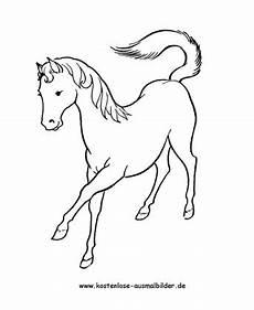 ausmalbild pferd 3 zum ausdrucken