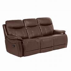 3 Seater Recliner Sofa Cover Png Image by Leather Recliner Sofa 3 Seater Eros Chocolate Price 430