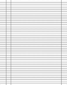 Blank Table Of Contents Template Blank Table Of Contents Template Free Download
