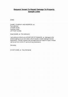Letter To Landlord Requesting Repairs Template Landlord Letter To Tenant Regarding Repairs Template