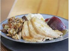 Turkey Dinner with All the Trimmings Recipe   Food Network
