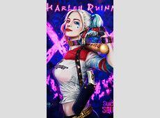 Harley Quinn Art iPhone Wallpaper 1   iPhone Wallpapers