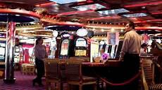 Carnival Cruise Casino The Casino Area Of The Carnival Splendor Cruise Youtube
