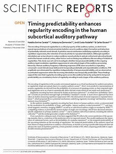 Scentific Report A New Paper By Gorina Careta And Colleagues Published In