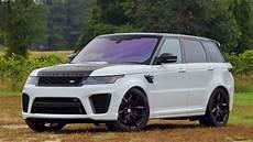 2019 Land Rover Svr the 2019 range rover sport svr packs performance into a