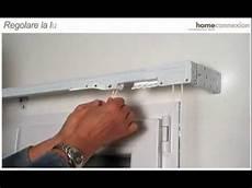 tende per binario fissaggio parete e soffitto binario per tende steelglyde