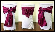chair sash all star rentals
