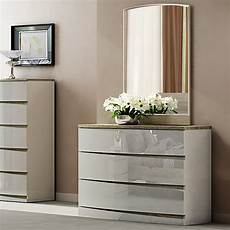 hayley oak high gloss 3 drawer chest of drawers f d brands