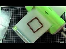 Cuttlebug Sandwich Chart Cuttlebug Sandwich Guide Card Making Tutorials Card