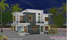 Home Design Roof Styles 4 Bedroom Flat Roof Style House 2200 Sq Ft Kerala Home