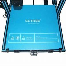 cctree 3d printer build surface heated bed sheet for