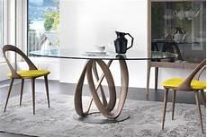 tavolo in cristallo calligaris calligaris tavolo rotondo tavolo da pranzo moderno in