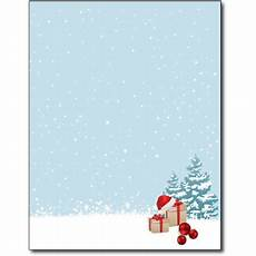 Holiday Stationery Paper Christmas Morning Holiday Stationery Paper 80 Sheets