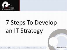 It Strategy 7 Core Steps To Develop It Strategy For Executives