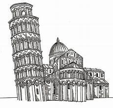 Malvorlagen Sterne Italien Ausmalen Als Anti Stress Italien Turm Pisa 4