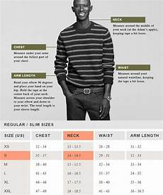 J Crew Mens Shirt Size Chart A Complete Guide To Buying Clothes Online Without