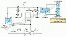 Motion Sensor Light Switch Wiring Diagram Motion Sensor Switch For Light Alarm Or Sprinkler