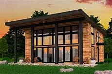modern 2 bed not big house plan 85165ms
