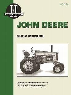 John Deere I Amp T Tractor Service Manual Jd 201