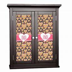 hearts cabinet decal small personalized youcustomizeit