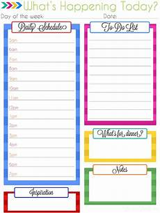 Daily Planner 2015 Ultimate Planning Notebook Add On Daily Planner Printable