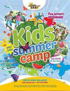 Summer Camp Pamplets 10 Beautiful Summer Camp Flyer Templates The Jotform Blog