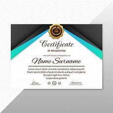 Appreciation Award Abstract Creative Certificate Of Appreciation Award