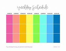Block Schedule App Daily Block Schedule Printable By Organized Charm Tpt