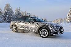 Audi A4 Allroad 2020 by Winter Spyshots Audi A4 Allroad Facelift Getting Ready
