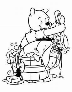 Disney Malvorlagen Winnie Pooh Winnie The Pooh Coloring Pages