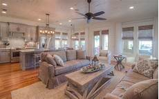 Living Kitchen Dining Open Floor Plan Newly Remodeled Seacrest Resort Home Backs Up To