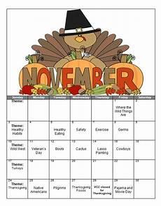 November Calendar Decorations Victor Child Care Center The Victorchildcare Com Blog