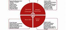 Mod Capability Sponsor Organisation Chart 4 Basic Roles In Six Sigma Sixsigmastats