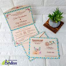 tiga contoh undangan pernikahan unik dan elegan digital