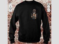 German Shepherd dog in Pocket shirt, sweater, hoodie