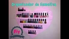 diy organizador diy organizador de esmaltes nail rack