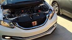 2012 Honda Accord Light Removal 2012 2015 Honda Civic Headlight Bulb Replacement Youtube