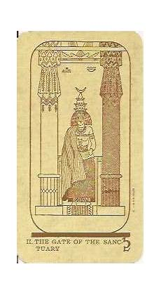 Brotherhood Of Light Egyptian Tarot Meanings The Egyptian Deck Designed By French Occultists Falconnier